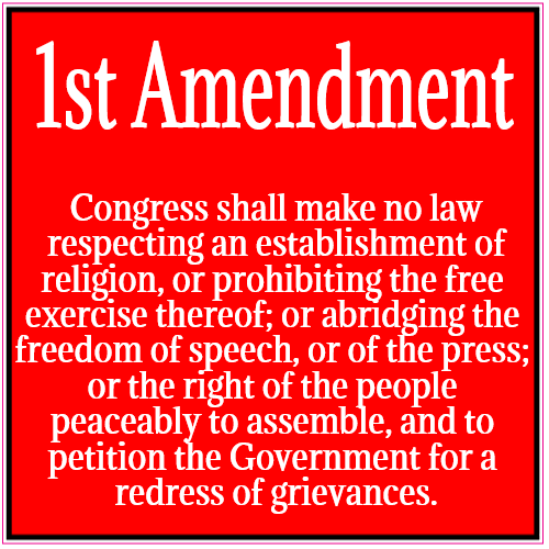 The Absolute Power of the First Amendment