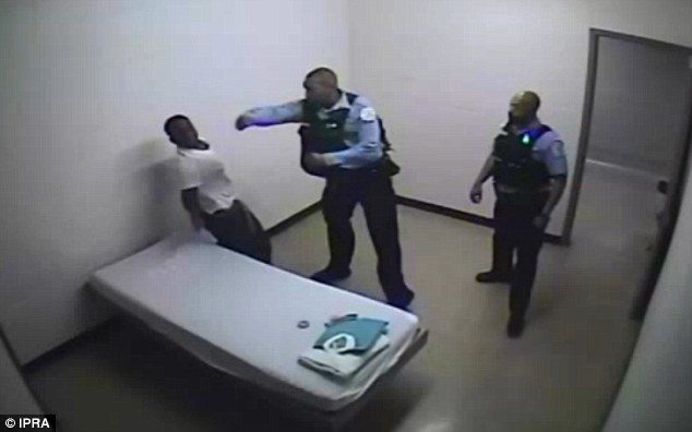 Chicago cop charged with recorded beating of patient in handcuffs