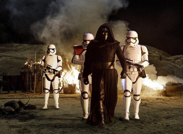 Kylo Ren Boards The Millennium Falcon In A 'Star Wars: The Force Awakens' Deleted Scene