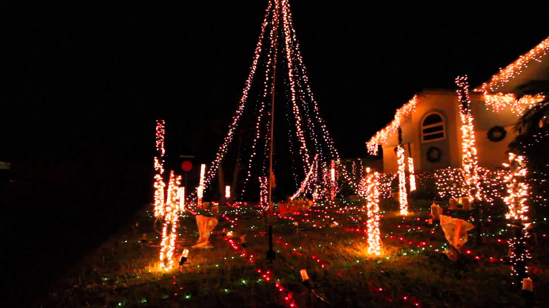 The Most Synchronized Christmas Light Show