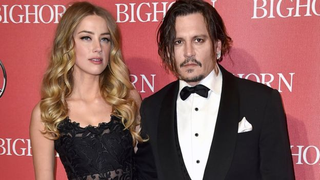Johnny Depp's wife Amber Heard accuses him of assault