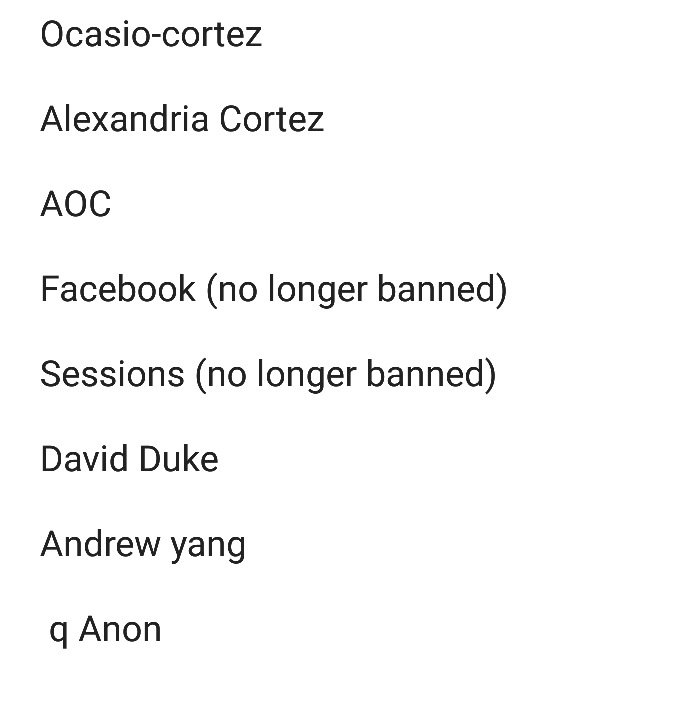 Keywords blacklisted in the_donald (proving that are moderators are controlled opposition)