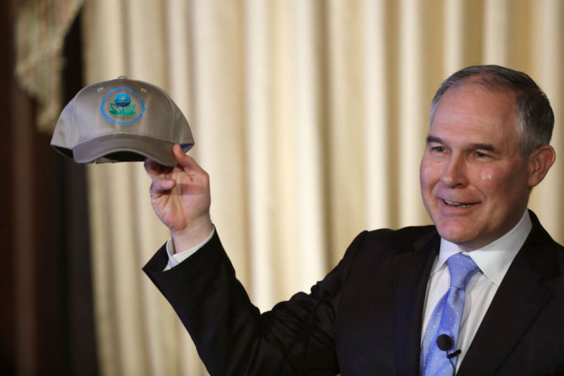 New EPA chief denies CO2 is major factor in climate change
