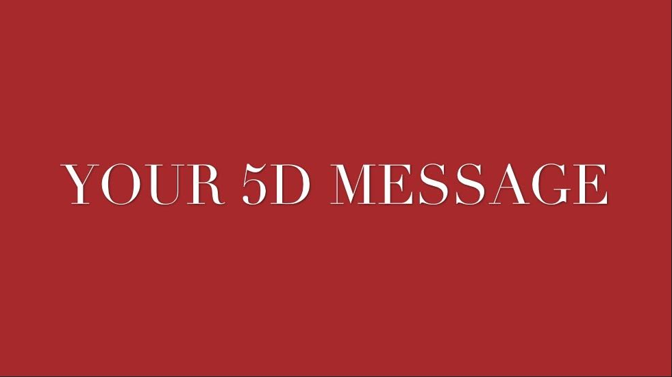 Sharing Your 5D Message