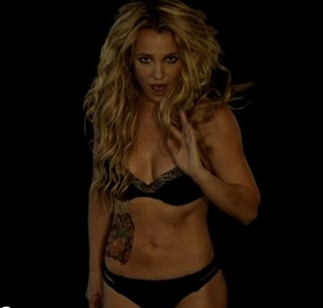 Britney Spears Strips Down to Her Bra and Panties for a Sexy, Little Dance Video