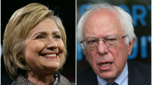 Sanders jabs at Clinton's foreign policy credentials following speech