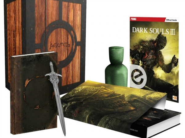 Emerald Estus Flask in Collectors Edition for Dark Souls 3