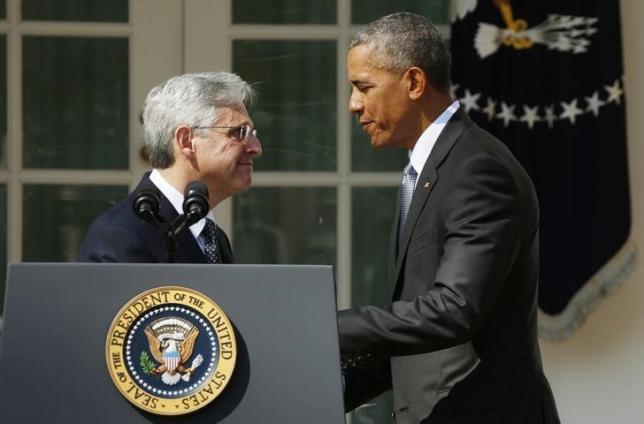 Obama picks centrist high court nominee; Republicans unmoved