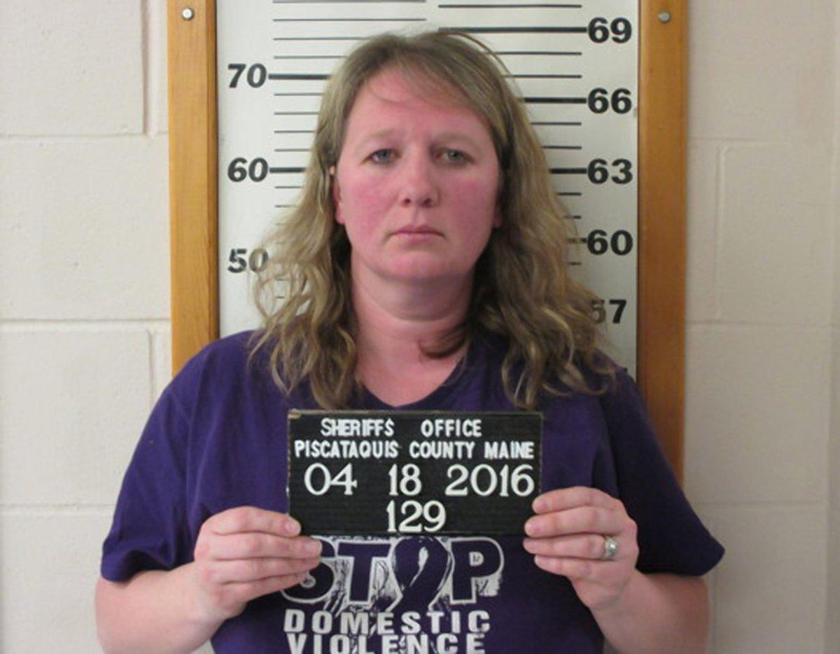 Woman arrested for domestic violence while wearing 'Stop Domestic Violence' T-shirt