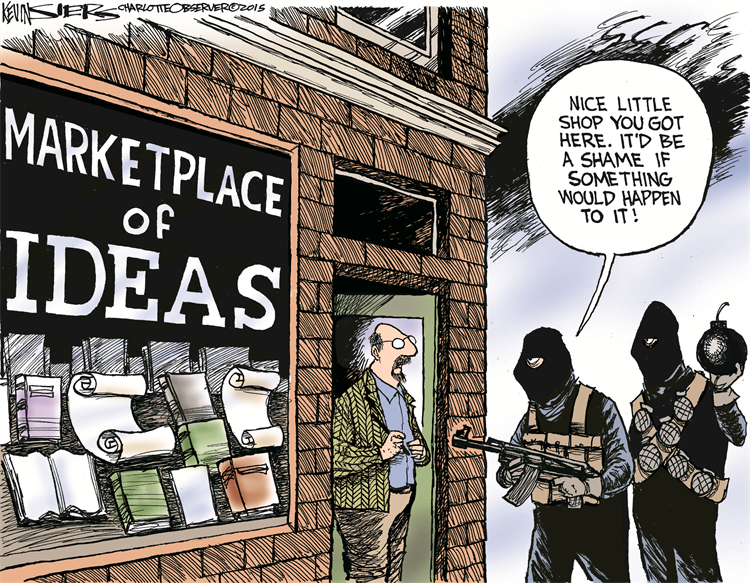 Part 1, The Death of the Marketplace of Ideas.