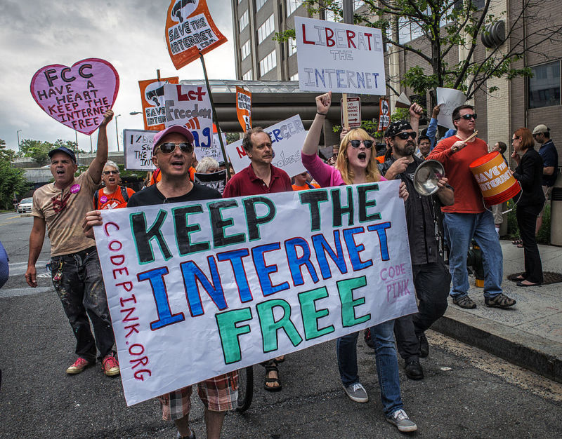 Net neutrality rules took away your Internet freedom, FCC chair claims