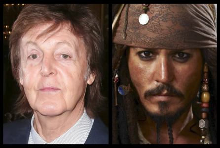 Paul McCartney Joins Johnny Depp & Crew For 'Pirates Of The Caribbean: Dead Men Tell No Tales�