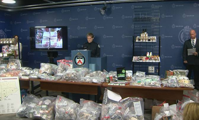 90 arrests, 257 charges laid in Toronto marijuana dispensary raids